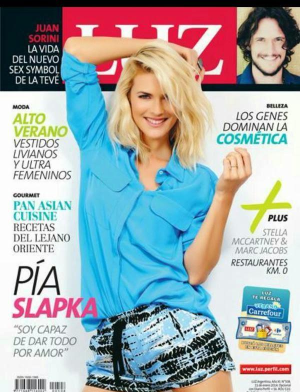 Ilona Ostrowska - Grazia Magazine, Poland, January 2015