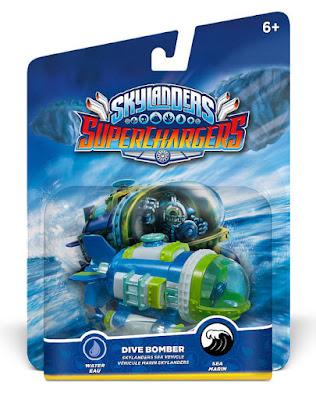 TOYS : JUGUETES - Skylanders SuperChargers Dive Bomber | Vehículo de Dive-Clops Producto Oficial | Videojuego | Activicion 2015 | A partir de 6 años Comprar en Amazon España & buy Amazon USA