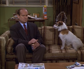 Frasier and Eddie, May 21, 1993