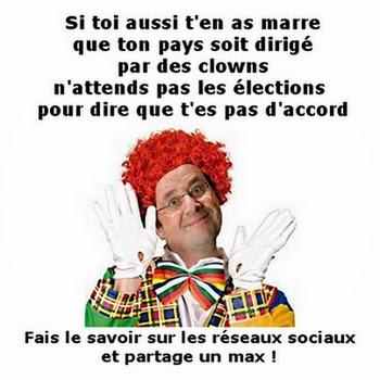 Des clowns, je vous dis.