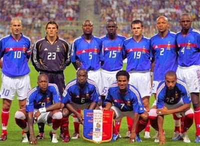 Tim Nasional Prancis - Juara Piala Dunia dan Juara Piala Eropa