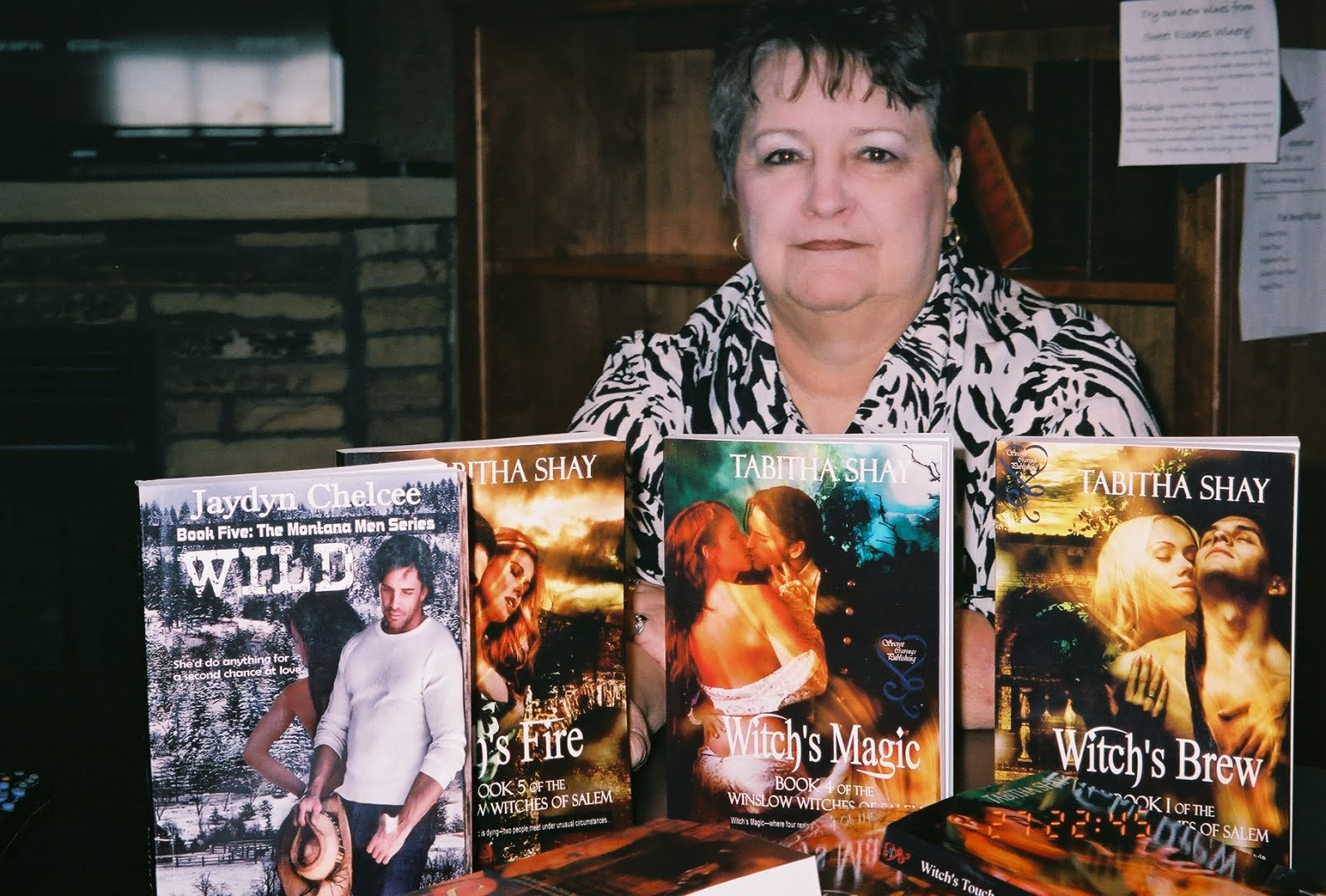 Paranormal Romance Author, Tabitha Shay