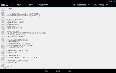 C4droid C C compiler & IDE Android App