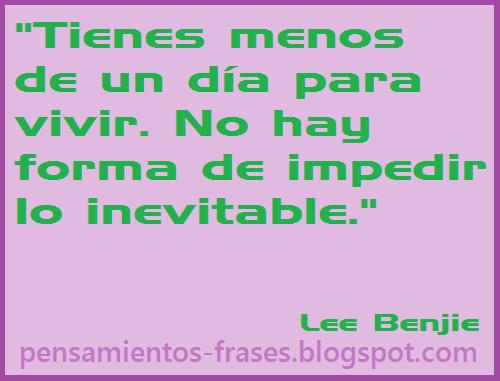 frases de Lee Benjie
