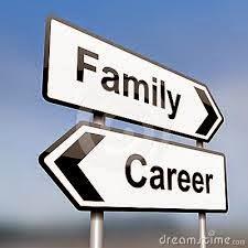 família ou carreira
