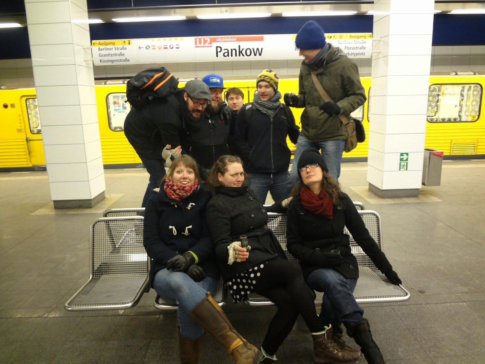 Drinking Tour of the Berlin U-Bahn
