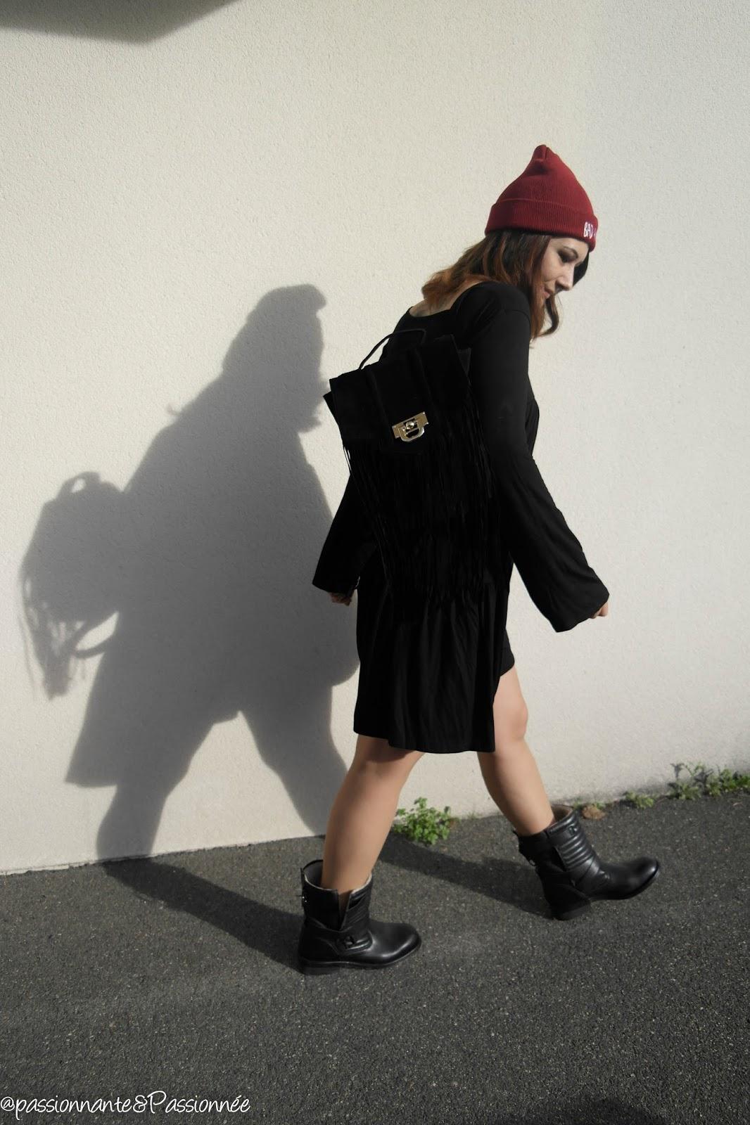 Look robe et boots