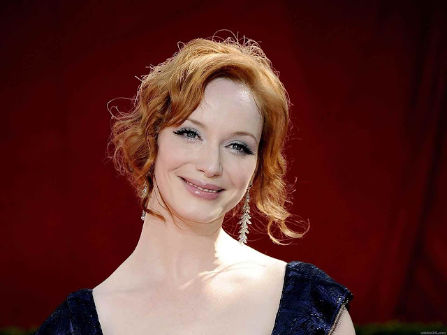 Christina Hendricks have a beautiful face
