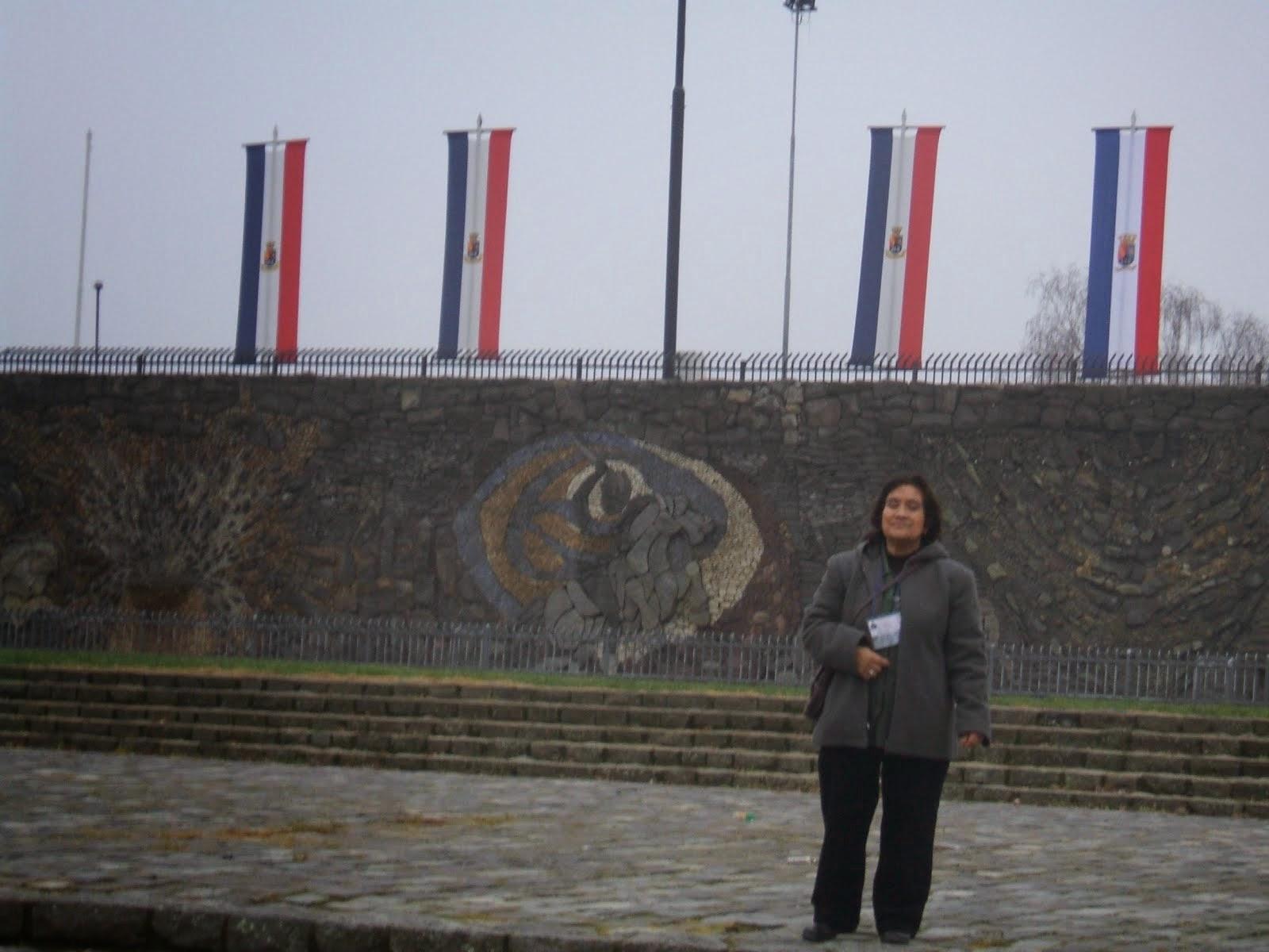 Evelina Rojas en Parque Monumental Bernardo O'Higgins - agosto 2012