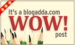 WOW Post by Blogadda.com