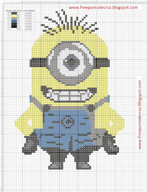 Minions templates for crafts and more.