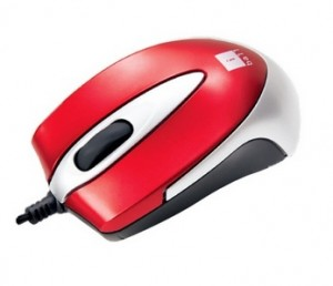 Snapdeal : Buy iball Mini X9 Double Retractable Blue Eye Mouse Rs.250 only