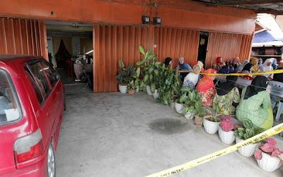Cucu saksi nenek dibunuh