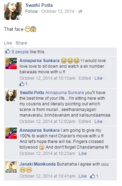 Annapurna Sunkara Comments on Ram Charan