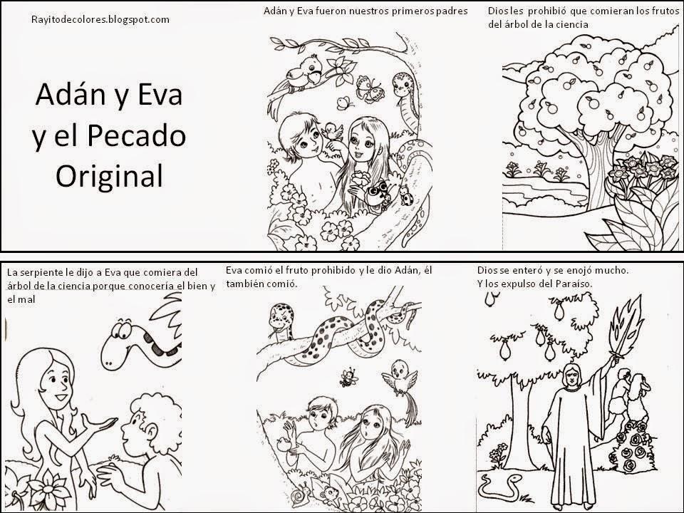 Sgblogosfera amigos de jes s historia de la creaci n for Adan y eva en el jardin del eden para colorear