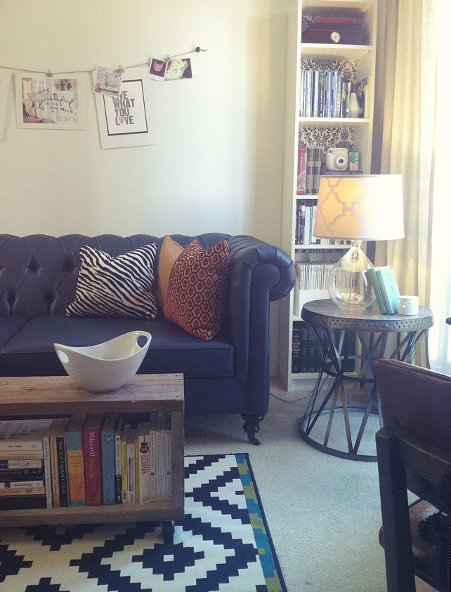 Living Room Makeover - Lesley Myrick