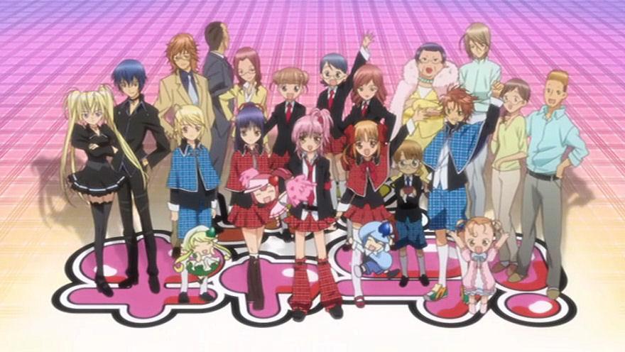 Animes favoritos: Shugo_Chara_Cast