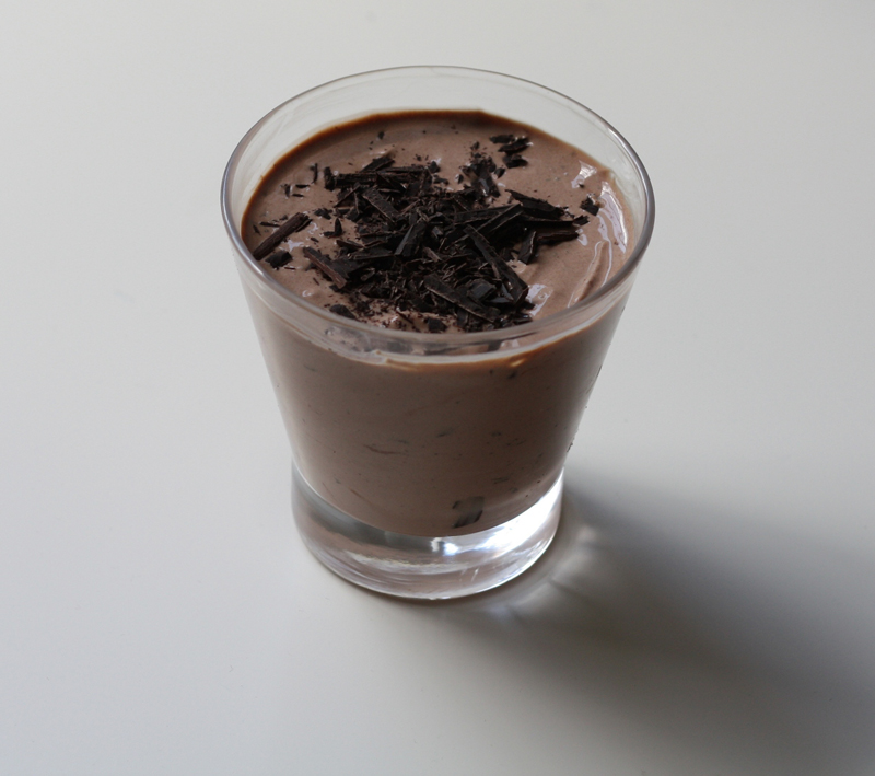 mademoiselle slimalicious to give us mousse chocolate mousse genius