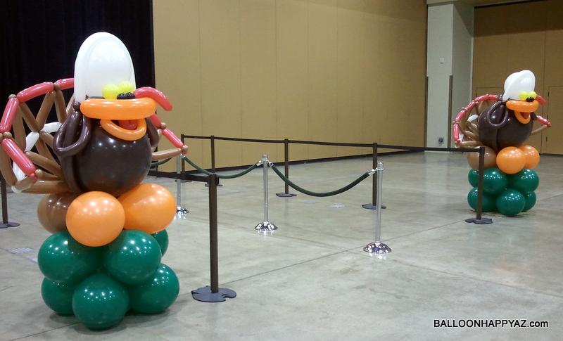 Decorating Ideas > Balloon Happy AZ Thanksgiving Balloon Decorations With  ~ 061918_Thanksgiving Balloon Decorations