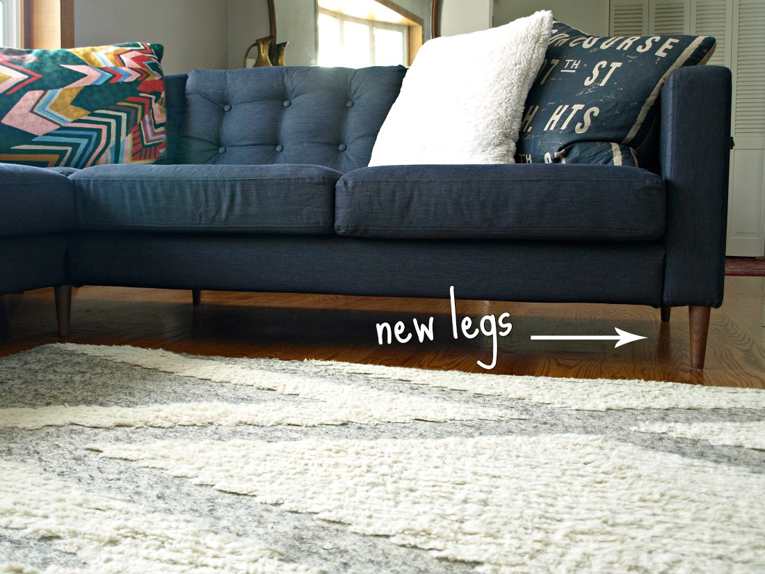 This Little Miggy Sta Home: Ikea Sofa Makeover on ikea table legs, ikea couch legs, black discolored legs, ikea kitchen legs, ikea furniture legs, ikea metal legs, ikea godmorgon legs, ikea kivik legs, ikea hack dresser with legs, white with dark stained table legs, ikea replacement legs,