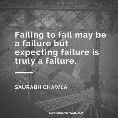 failure quotes saurabh chawla