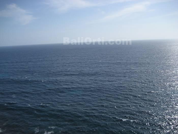 Vast blue sea