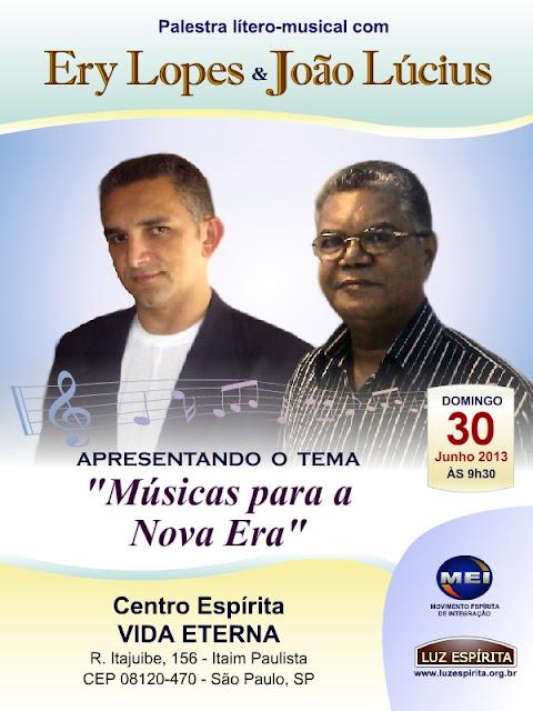 Músicas para a Nova Era - Ery Lopes & João Lucius