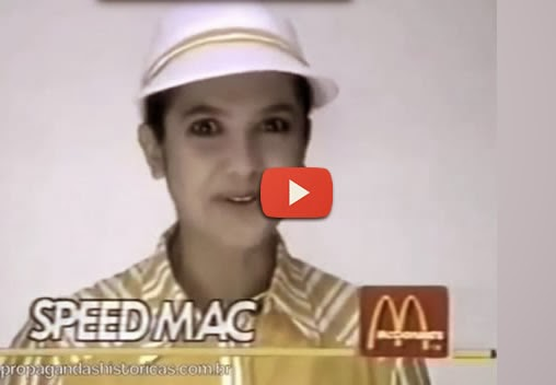 Propaganda do Mc Donald's com Sandra Annemberg