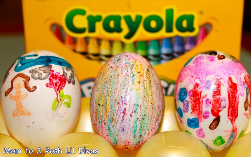 Mom to 2 Posh Lil Divas: Fun Ways to Decorate Easter Eggs with Kids!