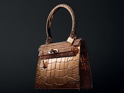 Tas Termahal Di Dunia - Tas dari Emas dan Berlian