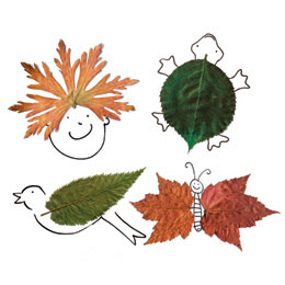 Leaf Creatures Look What You Can Do With Creativity And Beautiful Fall Leaves Make