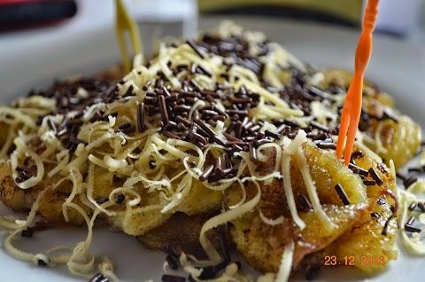 Pisang Goreng Cheese Coklat