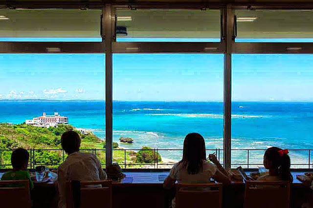 seaside, restaurant, view, Nanjo City