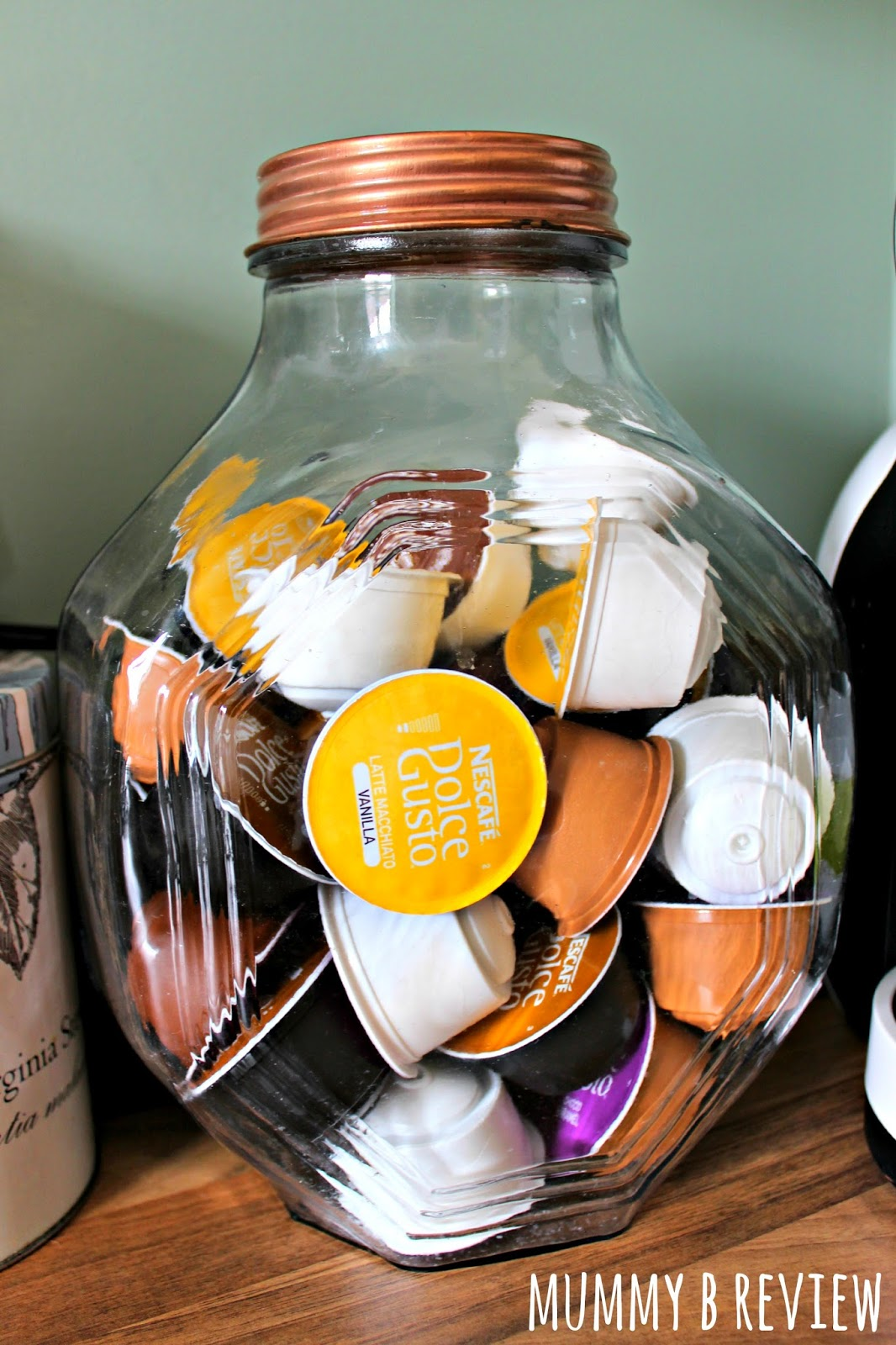 coffee cup storage ideas