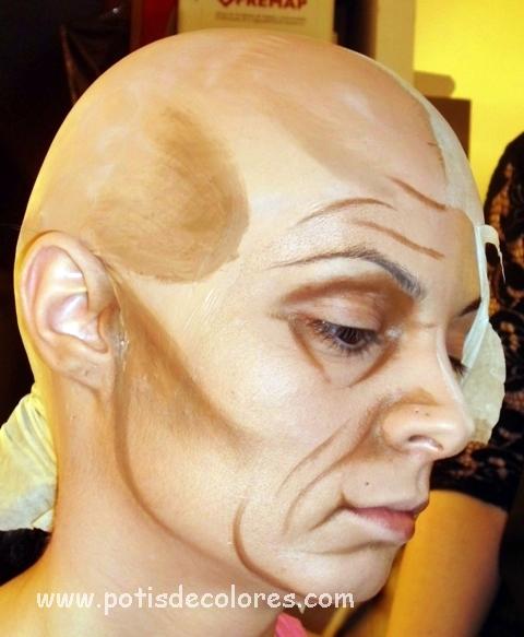 maquillaje envejecimiento paso a paso