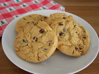 Big Chocolate Chip Orange Cookies