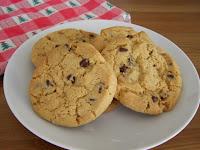 Big Chocolate Chip Orange Cookies