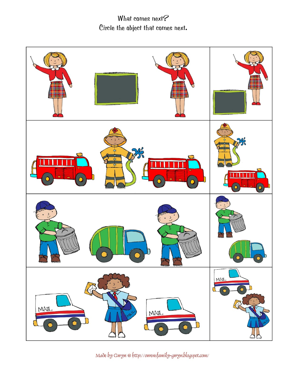 community helper In this lesson, you'll explore how students use creative arts and craft activities to relate to community helpers be prepared to embrace how.
