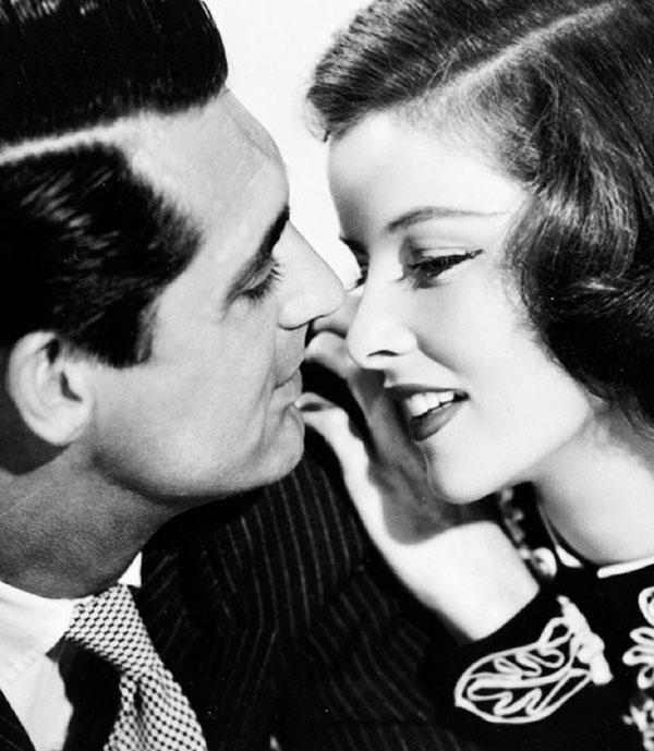 Cary Grant y Katharine Hepburn