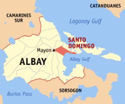 Sto. Domingo Map