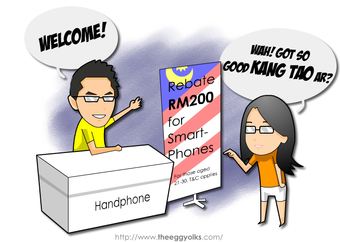 Budget 2013 - Rebate RM200 for Smartphone