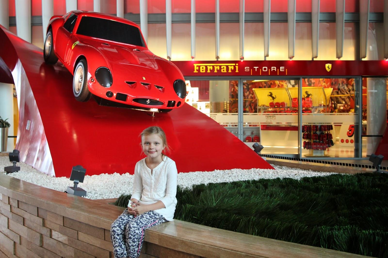 Life In Abu Dhabi Ferrari World