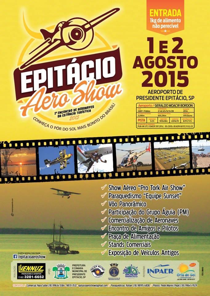 EPITÁCIO Aero Show.