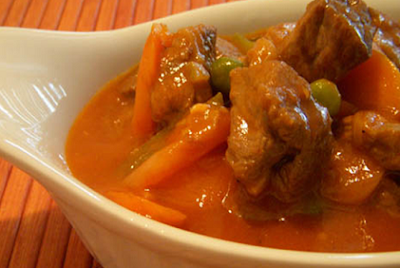 Filipino Beef Afritada Recipe submited images.