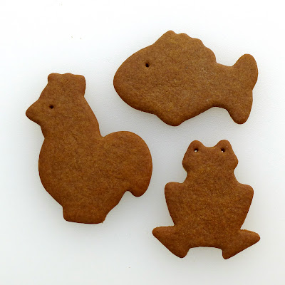 Pogens Inspired Gingersnap Cookies by Nina's Show & Tell