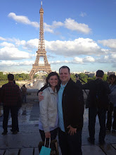 Paris, France with the Love of my Life