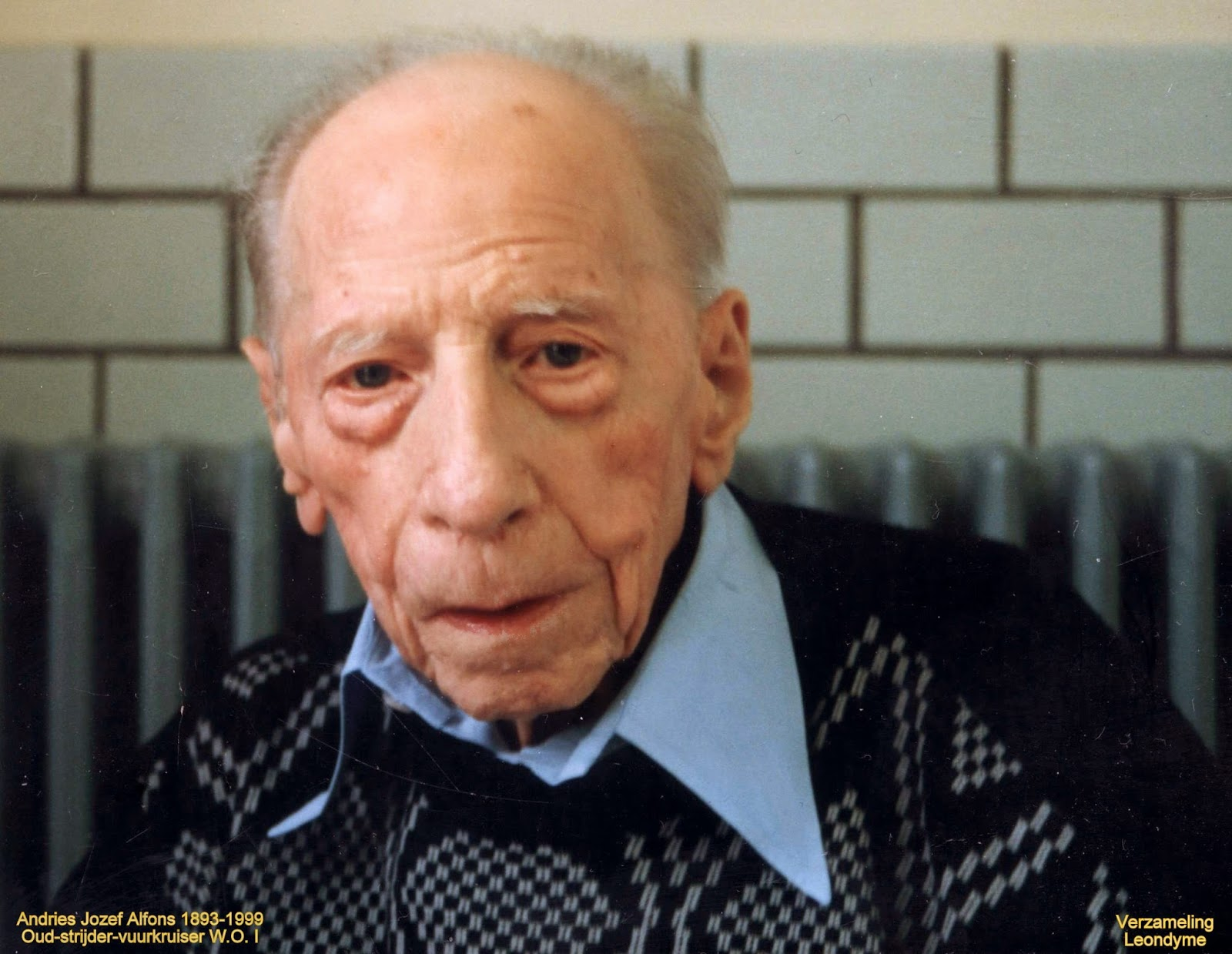 Jozef Alfons Andries 1893-1999. Verzameling Leondyme.