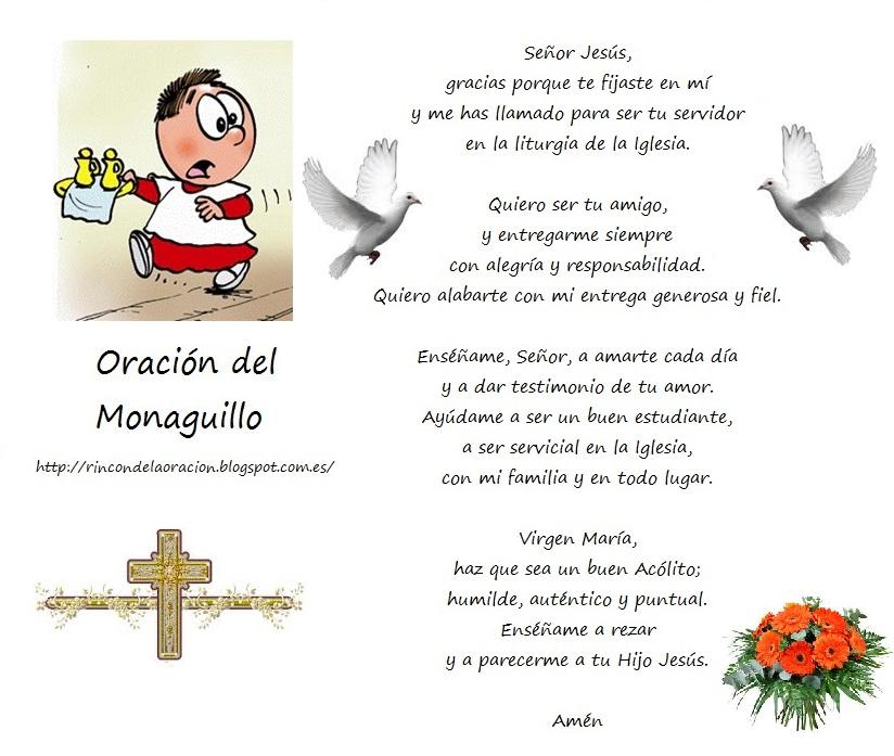 Blog Católico Parroquia Santa María de Baredo-Baiona: Oraciones de