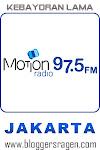 Motion FM 97.5 MHz Jakarta
