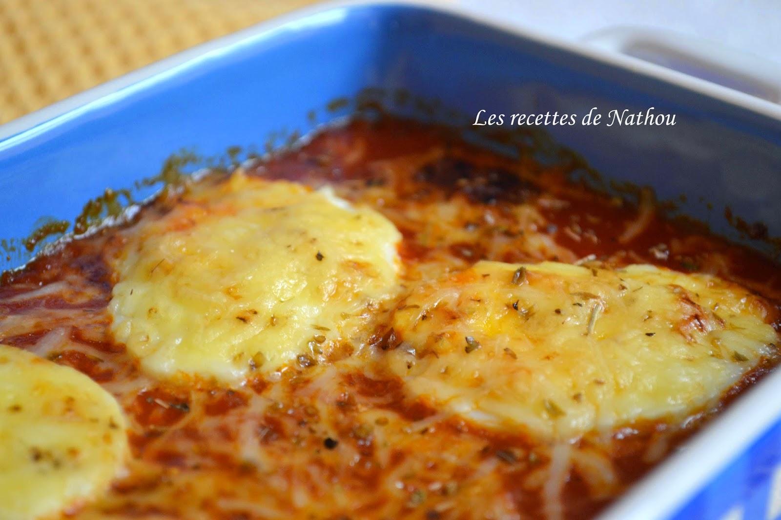 Gratin d 39 oeufs durs la sauce tomate blogs de cuisine - Recette avec des oeufs durs ...